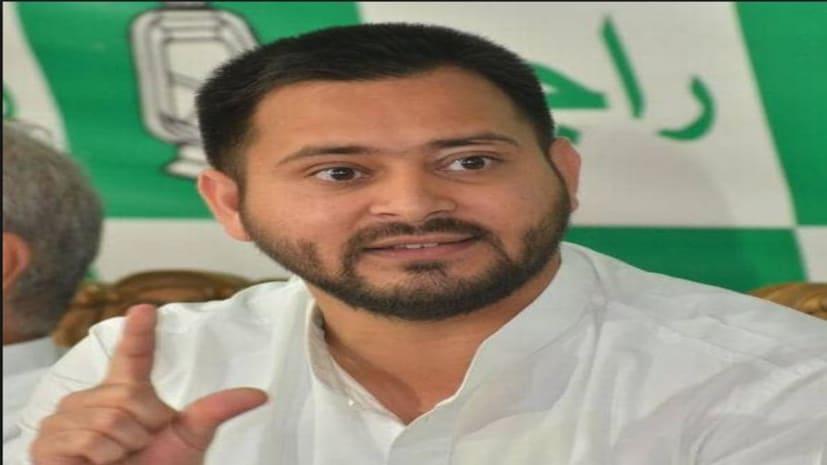 BJP पर तेजस्वी का तंज, 'मोदी सरकार देश का बंटाधार कर नफ़रत बोने में लगी हैं'
