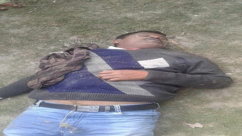 अपराधियों का तांडव, पूर्व सरपंच के बेटे का मर्डर, सकते में पुलिस