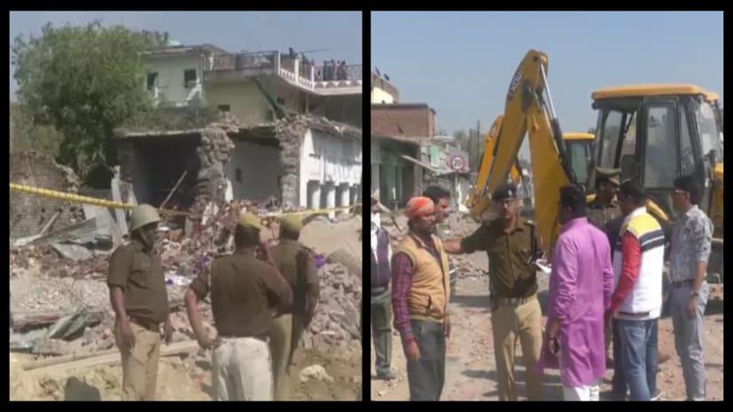 उत्तर-प्रदेश के भदोही में एक घर के अंदर भीषण धमाका, 10 लोगों की मौत, 3 गंभीर रुप से घायल