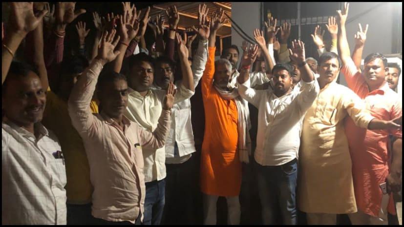 डॉ संजीव के समर्थन में हजारों कार्यकर्ता पहुंचे पटना, खगड़िया से एलजेपी टिकट की कर रहे हैं मांग