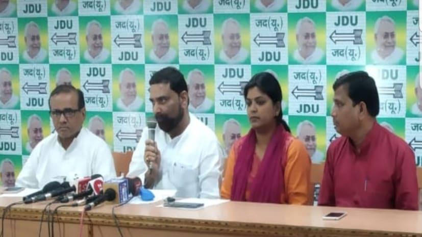 तेजस्वी को जवाब देने के लिए जदयू ने प्रवक्ताओं की उतारी फौज,कहा- अफवाहबाज राजद की दाल नहीं गलने वाली