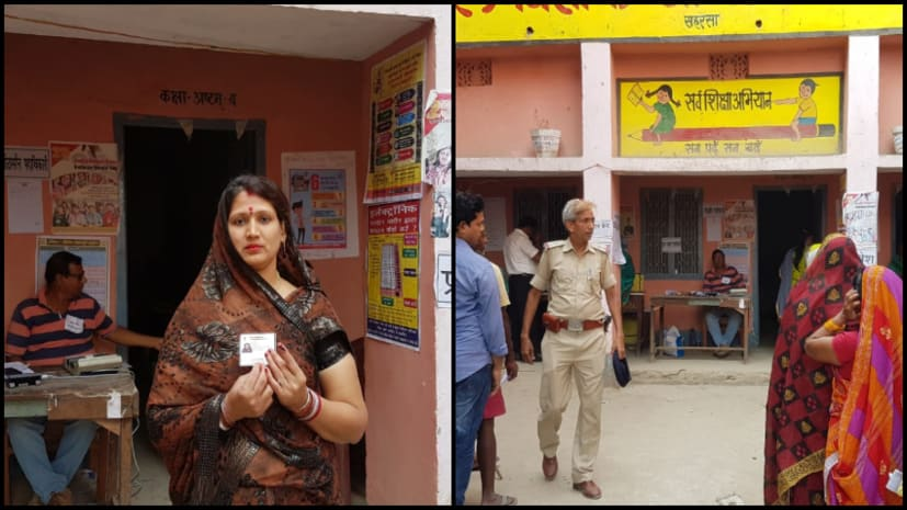 बिहार में 5 सीटों पर वोटिंग जारी, 4 बजे तक करीब 51 फीसदी मतदान