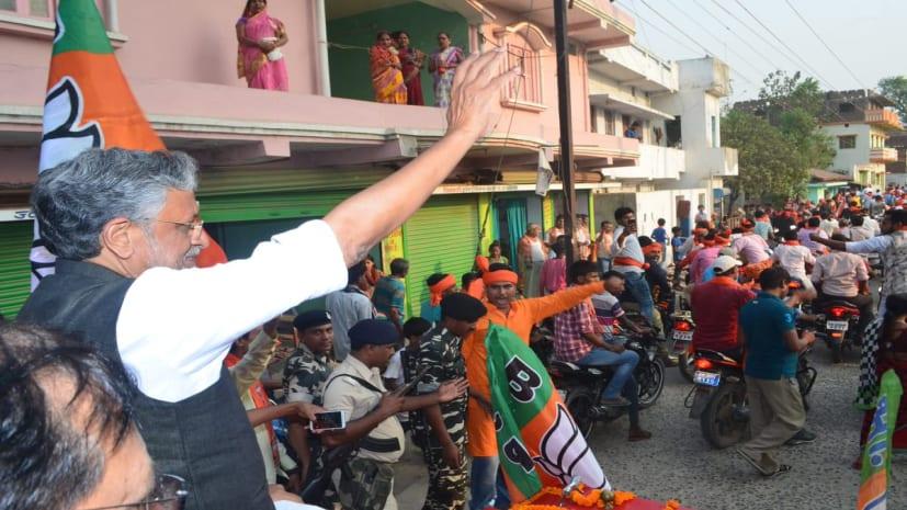 सुशील मोदी बोले- मजबूत पीएम ने सर्जिकल स्ट्राइक कर श्रीलंका जैसे हालात से देश को  बचाया
