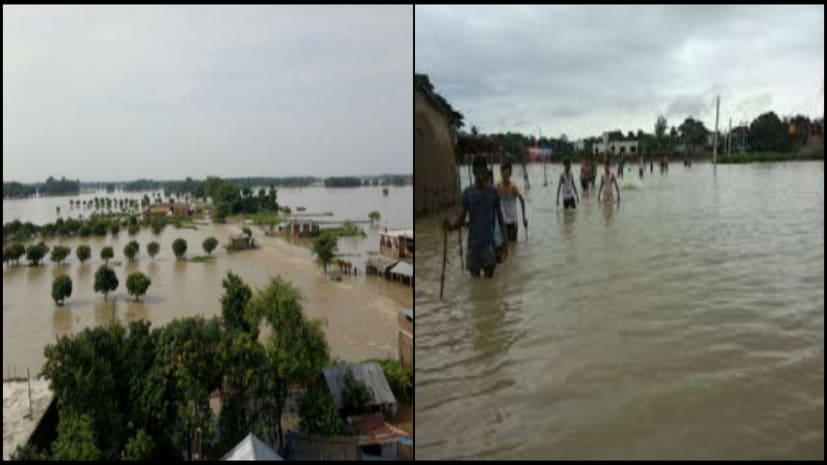 बिहार में बाढ़ का कहर जारी, अब तक 104 की मौत, 76 लाख से ज्यादा आबादी प्रभावित