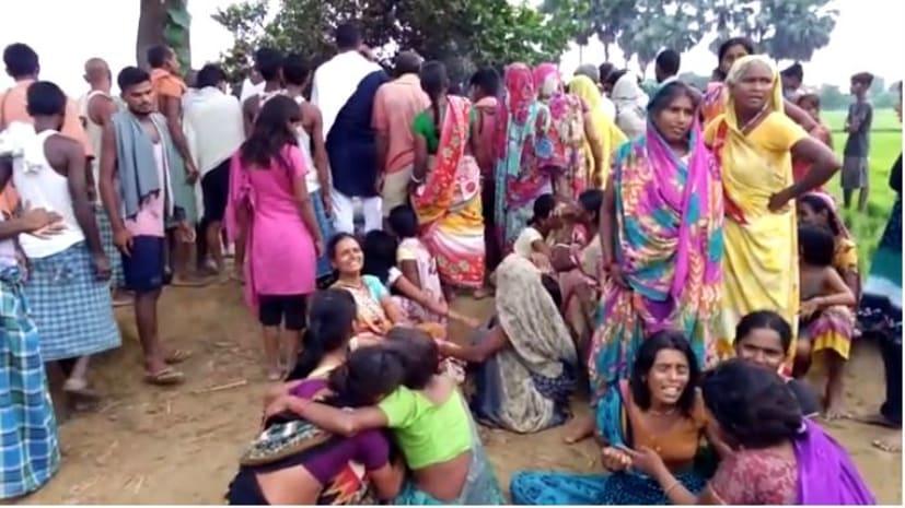 आसमानी बिजली का कहर : नालंदा में बिजली गिरने से दो की मौत