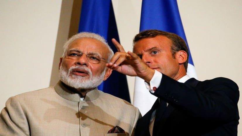 कश्मीर मुद्दे पर फ्रांस पूरी तरह से भारत के साथ, राष्ट्रपति मैक्रों ने कहा- नहीं करना चाहिए किसी तीसरे पक्ष को हस्तक्षेप