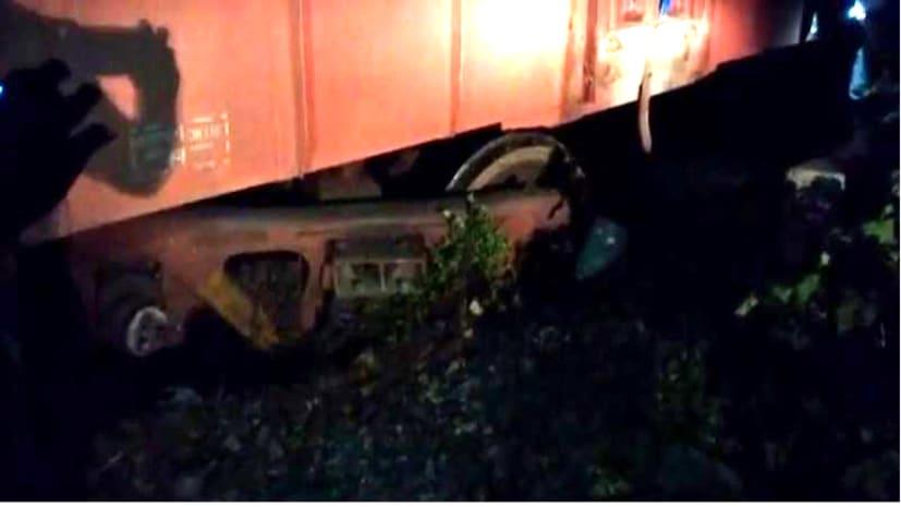 सासाराम में एक सप्ताह के भीतर हुआ दूसरी बार हादसा, पटरी से डिरेल हुआ मालगाड़ी का डिब्बा,