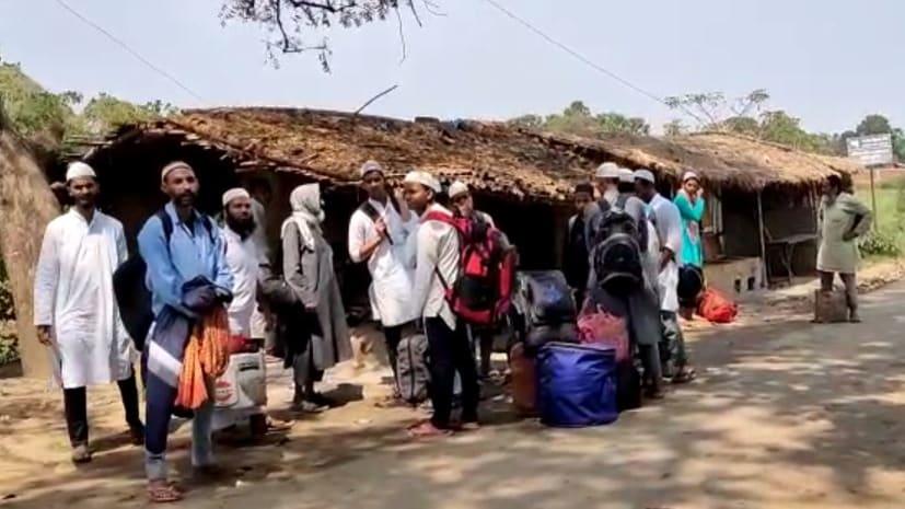 बाहर से आए कुछ लोगों ने पटना के एक मस्जिद ने बना रखा था ठिकाना, कोरोना के भय से स्थानीय लोगों ने खदेड़ा