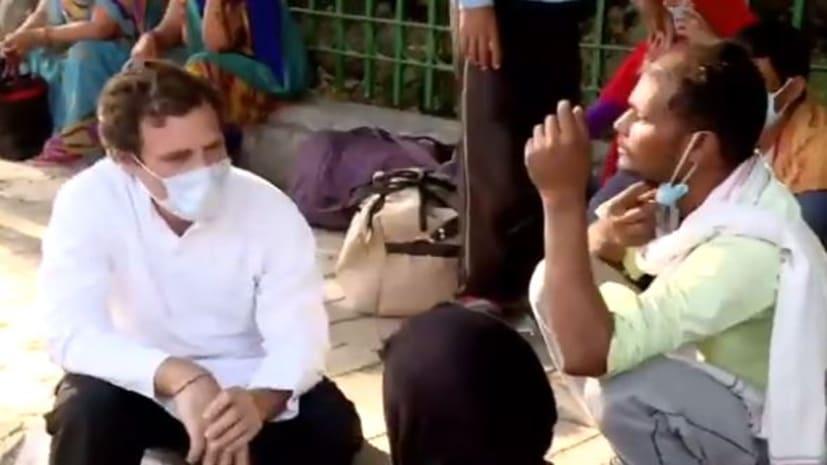 राहुल गांधी ने प्रवासियों पर जारी की डॉक्यूमेंट्री, मजदूरों ने कहा- घर से बाहर निकलना गुनाह लगता है