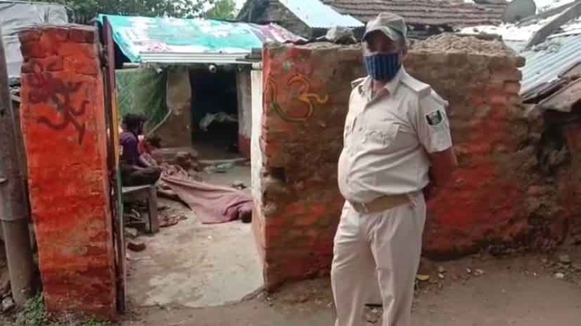 नशेड़ी भाई की खुद के भाई और भतीजे ने की हत्या, वारदात के बाद घर में मारकर गाड़ दिया था