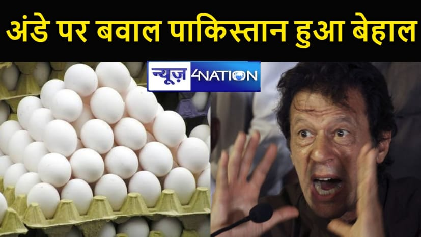 नये पाकिस्तान में एक अंडा 30 रु अदरक हजार रु किलो, चीनी 100 के पार