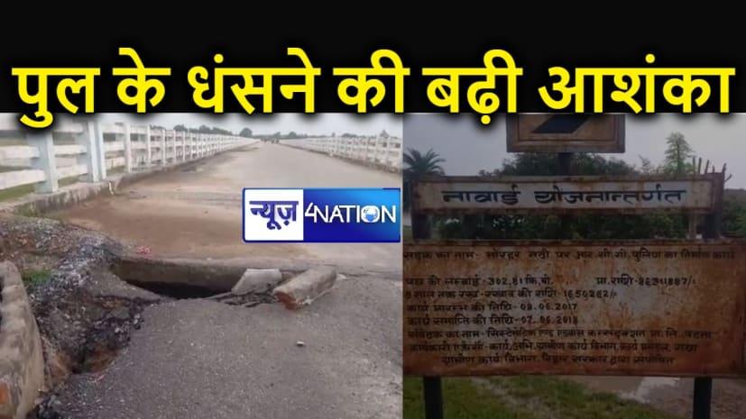 नाबार्ड से 8.5 करोड़ की लागत से बनी सड़क 800 दिन भी नहीं टिकी, चढ़ी भ्रष्टाचार की भेंट