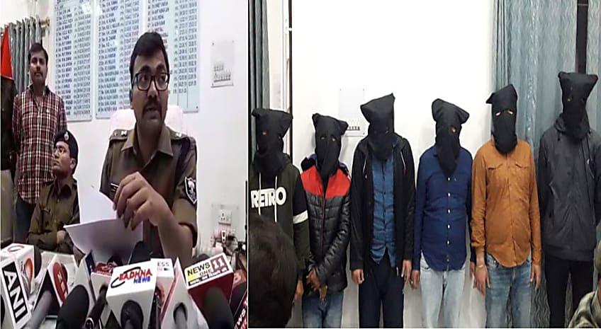 बड़ी खबर : पटना ज्वेलरी शॉप लूट मामले में पुलिस को बड़ी सफलता, लाइनर समेत 6 को किया गिरफ्तार
