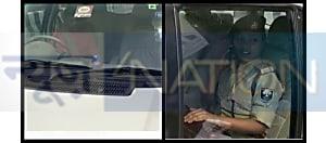 बाहुबली विधायक अनंत सिंह को ट्रांजिट रिमांड पर लेने के लिए अपने सांसद पिता की गाड़ी से कोर्ट पहुंची एएसपी लिपि सिंह..मचा बवाल...