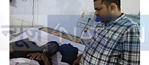 मुजफ्फरपुर के एक घर में अचानक फायरिंग की खबर, एक युवक को लगी गोली