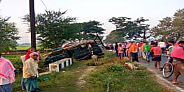 मुंगेर में दर्दनाक सड़क हादसा, एक की मौत, 9 गंभीर रूप से घायल