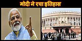 मोदी ने रचा इतिहास, केन्द्र में पहली बार पूर्ण बहुमत से दोबारा गैर कांग्रेसी सरकार