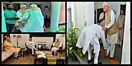 प्रचंड जीत के बाद पीएम मोदी पहुंचे आडवाणी और जोशी के घर, कुछ इस तरह से लिया आशीर्वाद