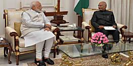 मोदी ने राष्ट्रपति को सौंपा इस्तीफा, नई कैबिनेट गठन की कवायद शुरु