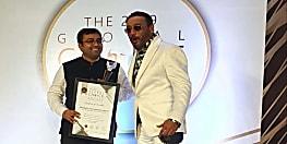 जैकी श्रॉफ के हाथों डॉ राजीव कुमार सिंह को मिला ग्लोबल चॉइस अवार्ड 2019