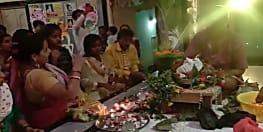 गया में धूमधाम से मनाया गया कृष्ण जन्म उत्सव, गौरिया मठ में उमड़ी श्रद्धालुओं की भीड़