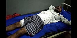बेगूसराय में अपराधी बेखौफ, सीएसपी संचालक को मारी गोली, 5 लाख लूटे