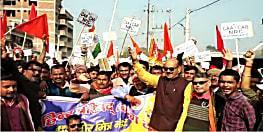 एनआरसी और सीएए की पक्ष में लोगों ने कई जगहों पर निकाली रैली, समर्थन में लगाये नारे
