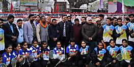 मोतिहारी में इंडो-नेपाल बॉल बैडमिंटन श्रृंखला का आयोजन,भारतीय टीम ने मारी बाजी