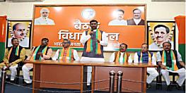 बाबूलाल मरांडी को विधायक दल का नेता चुने जाने पर बोले ओमप्रकाश माथुर, पार्टी ने श्रेष्ठ कार्यकर्ता को नेता बनाया