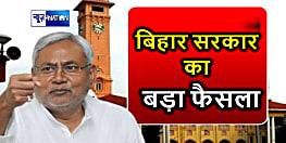 बिहार सरकार का बड़ा फैसला,कोरोना वायरस को लेकर वित्त विभाग ने कई रोक को हटाया