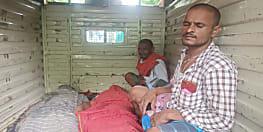 बेगूसराय में बड़ा हादसा, सड़क किनारे सो रहे दो लोगों को ट्रक ने कुचला, मौत