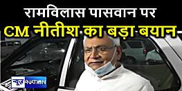 रामविलास पासवान पर CM नीतीश कुमार का बड़ा बयान, बोले- मुझे मालूम नहीं है...