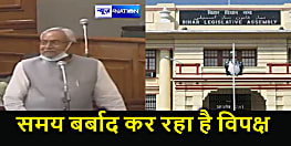 Bihar News : CM नीतीश का विपक्ष पर तंज, कहा-पता नहीं ऐसे लोगों का सलाहकार कौन हैं? वे अपना समय बर्बाद कर रहे