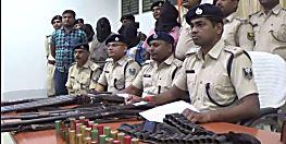 बेतिया पुलिस को मिली बड़ी कामयाबी, दस्यु सरगना बैधनाथ यादव समेत चार अपराधी गिरफ्तार