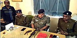 पुलिस को मिली बड़ी सफलता, हार्डकोर नक्सली धनंजय को हथियार के साथ किया गिरफ्तार