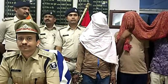पुलिस को मिली बड़ी सफलता, डकैती कांड में शामिल तीन अपराधियों को किया गिरफ्तार