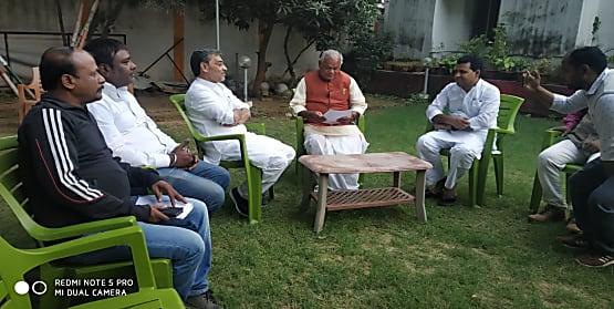 उपेंद्र कुशवाहा ने जीतनराम मांझी से की मुलाकात, 26 नवंबर से प्रस्तावित आमरण अनशन को लेकर मांगा समर्थन