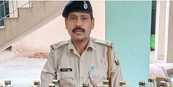 नालंदा में वाहन जांच के दौरान भारी मात्रा में शराब बरामद, चालक गिरफ्तार