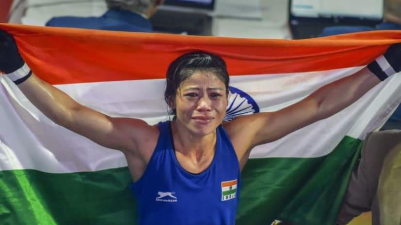 छठी बार वर्ल्ड चैंपियन बनीं मैरीकॉम, आंसुओं के साथ कहा- मैं भारत को स्वर्ण पदक ही दे सकती हूं
