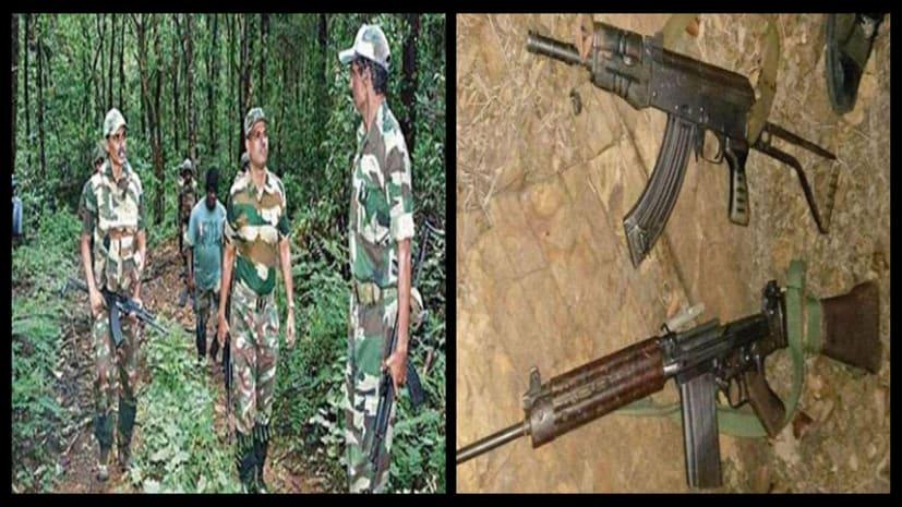 सुरक्षाबलों के साथ हुई मुठभेड़ में 3 नक्सली ढेर, 2 AK-47 बरामद