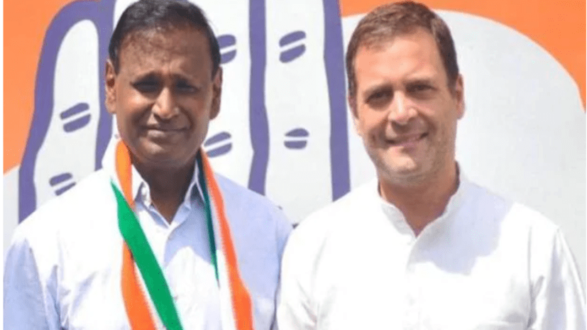 टिकट कटने से नाराज BJP सांसद ने थामा कांग्रेस का हाथ, राहुल गांधी ने किया पार्टी में स्वागत