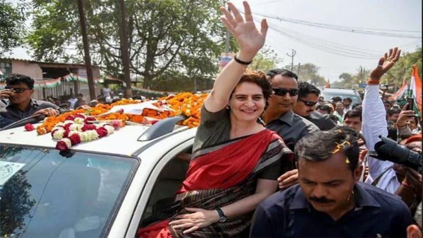 अपनी साख बचाने के लिए कांग्रेस ने झोंकी ताकत, आज से तीन दिवसीय यूपी दौरे पर प्रियंका गांधी