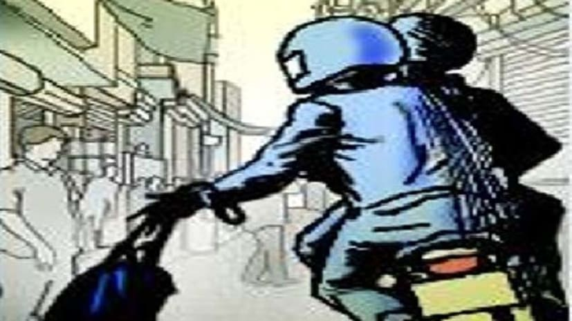 राजधानी में अपराधी बेलगाम, बैंक से पैसे निकालकर जा रहे व्यक्ति से लुटे दो लाख रुपये