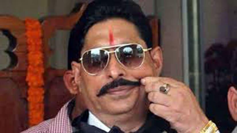बाहुबली विधायक अनंत सिंह को हवाई जहाज से लाया जा रहा है पटना
