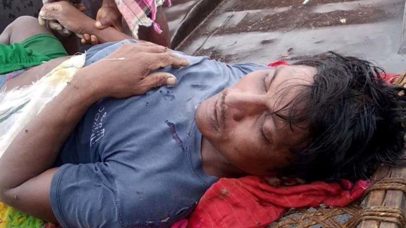 गया में ठनका गिरने से एक व्यक्ति की गयी जान, एक महिला घायल