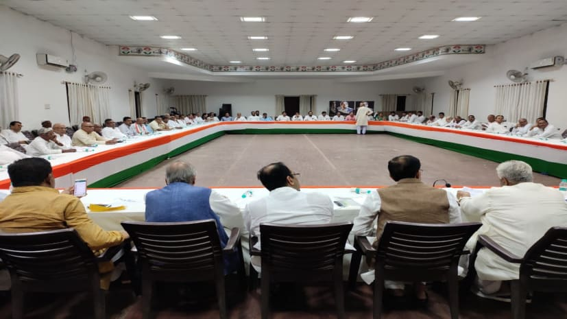 बिहार कांग्रेस की बैठक में उठी एकला चलो की मांग, कई विधायकों ने दिया अकेले चुनाव लड़ने का सुझाव