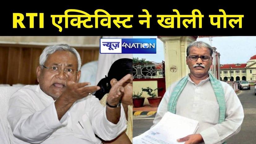 बड़ा खुलासाः चावल घोटाले में 'फरार' अपर सचिव सचिवालय में कर रहे ड्यूटी! RTI एक्टिविस्ट ने खोली पोल..CM नीतीश से की शिकायत