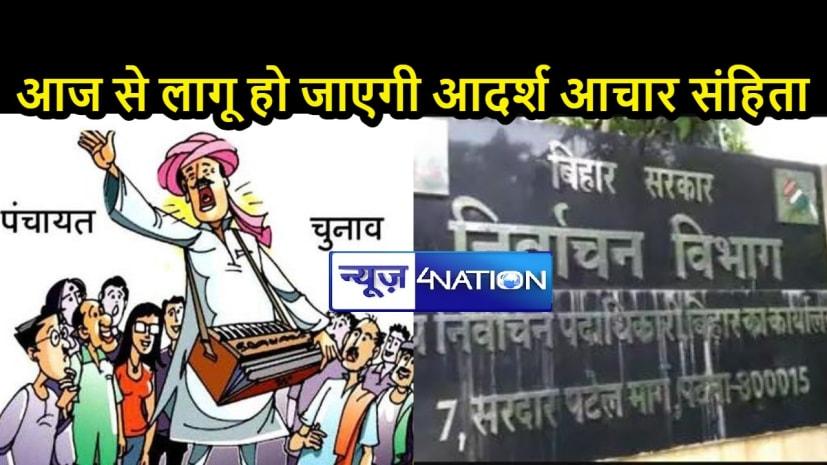 बिहार में पंचायत चुनाव: किस जिले-प्रखंड में किस चरण में होंगे चुनाव, जानें पूरी डिटेल....