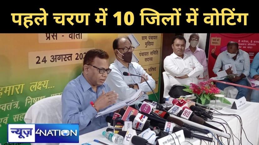 बिहार में पंचायत चुनावः सूबे के 28 जिलों में पहले फेज में चुनाव नहीं, देखें पूरी लिस्ट...