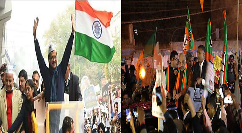 दिल्ली विधान सभा चुनाव : प्रचार का महासंग्राम शुरु, आरोप-प्रत्यारोप के साथ जनता से किये जाने लगे लोकलुभावन वायदे